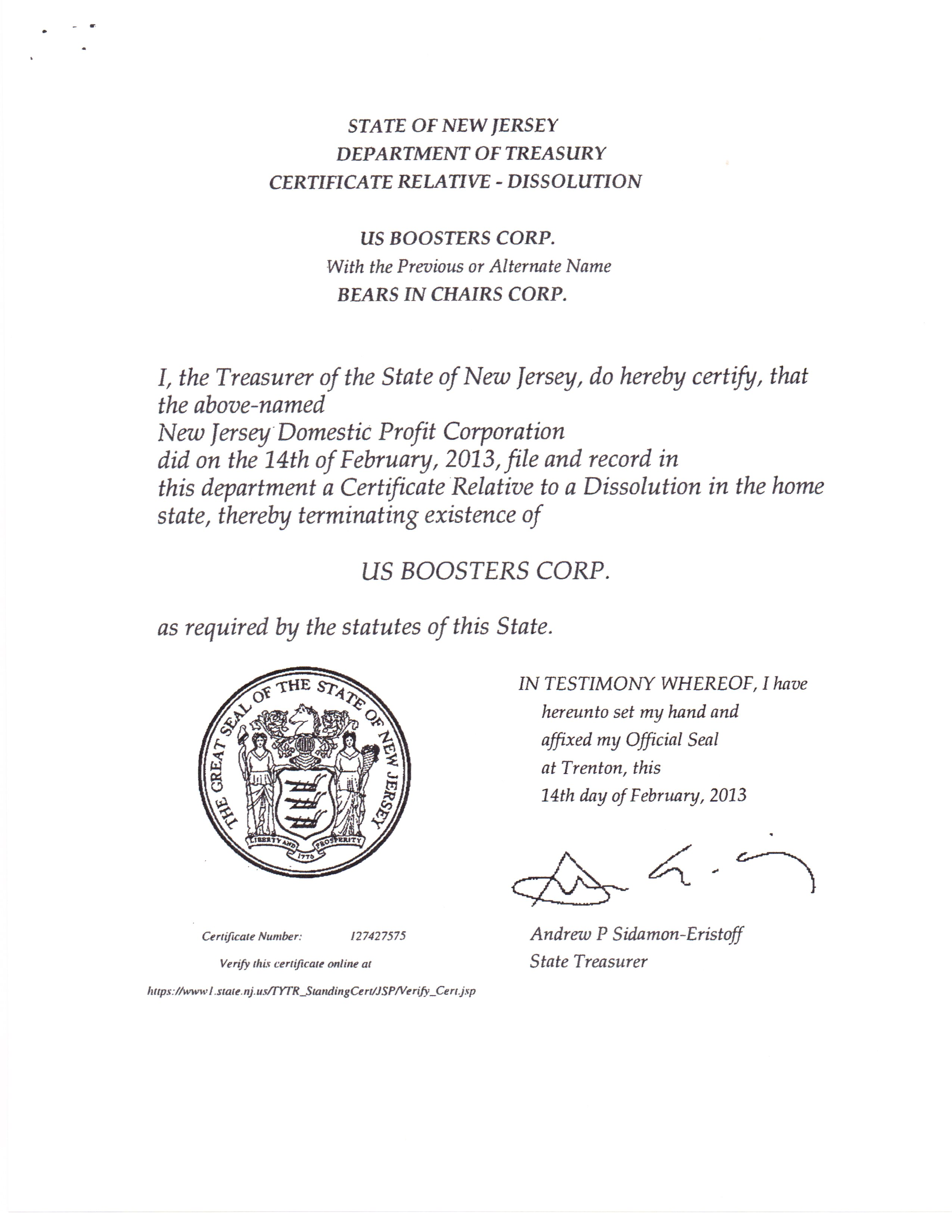 How To Obtain Certificate Of Good Standing Nj Best Design