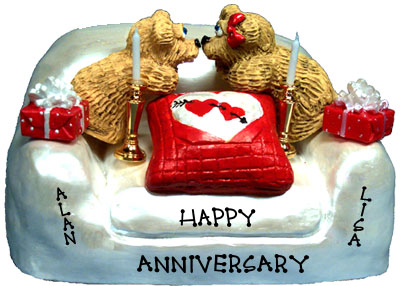 Buy 40th wedding anniversary gifts - \&quot;40th Wedding Anniversary Gift, 2-Bear Bunch Design Free Names\&quot;