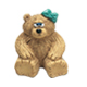 Dreidel on Female Bear