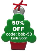 Ornament 50% Off