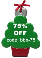 Ornament 75% Off