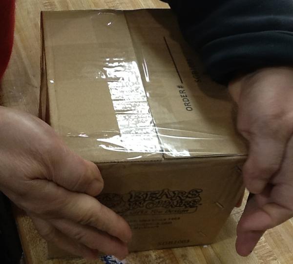 Bear Bunch Pack N Ship-Box Sealed