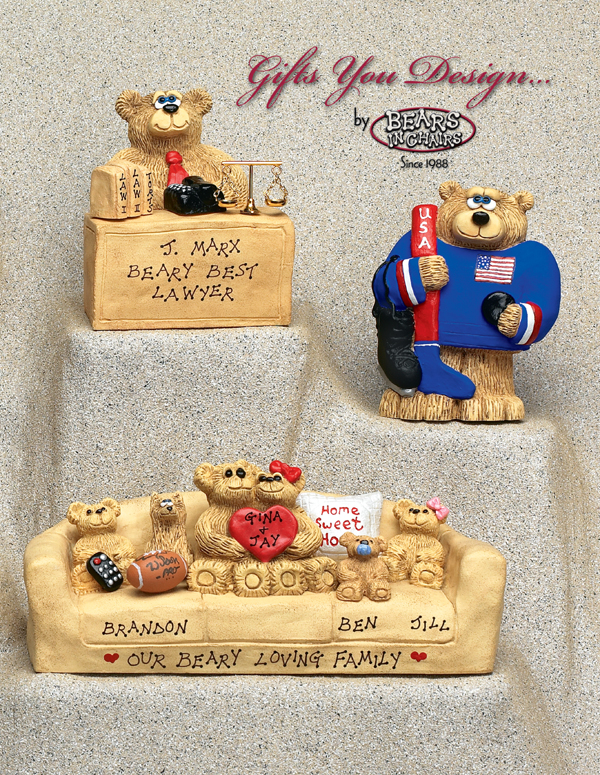 Image of Bears in Chairs Catalog Cover - 2002